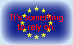Europe - It's something to rely on